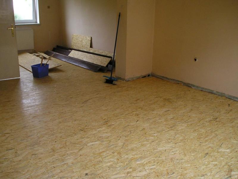 Podlaha z osb desek